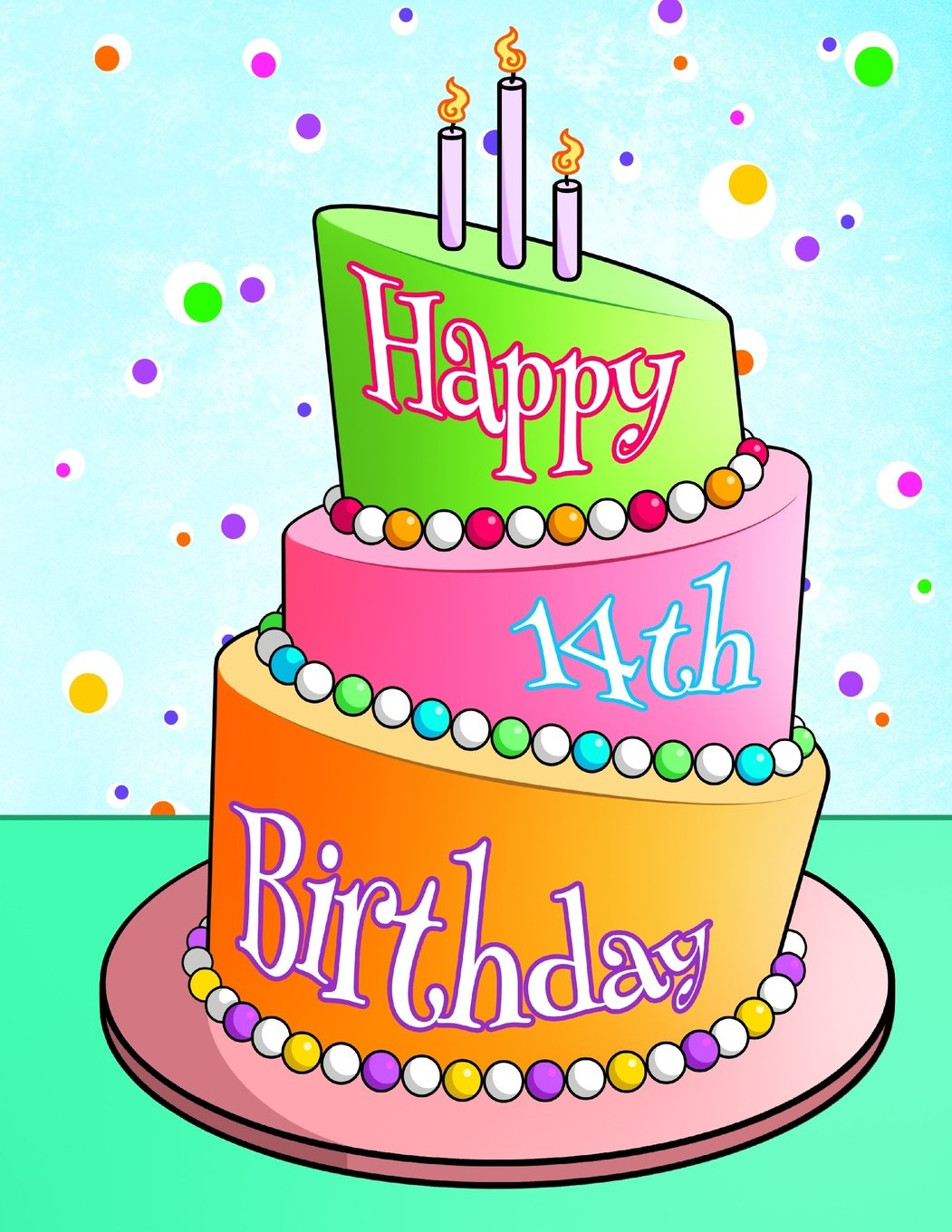 Remarkable 14Th Birthday Cake For Girls The Cake Boutique Personalised Birthday Cards Akebfashionlily Jamesorg
