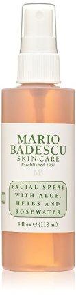 Mario Badescu Facial Spray with Aloe, Herbs and Rosewater, 4 oz.