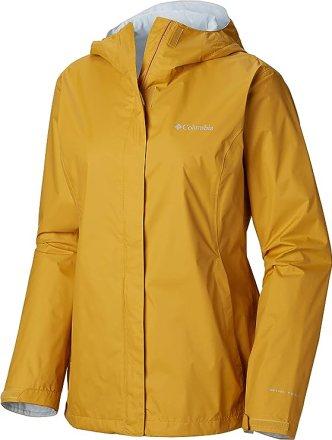 Columbia plus size yellow raincoat