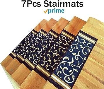 Amazon Com Stair Treads Carpet Non Slip – Stair Runners For | Carpet Stair Treads For Sale | Bullnose Carpet | Staircase Remodel | Stair Runners | Carpet Runners | True Bullnose