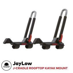 Yakima - JayLow, J-Style Fold Down Rooftop Kayak Carrier