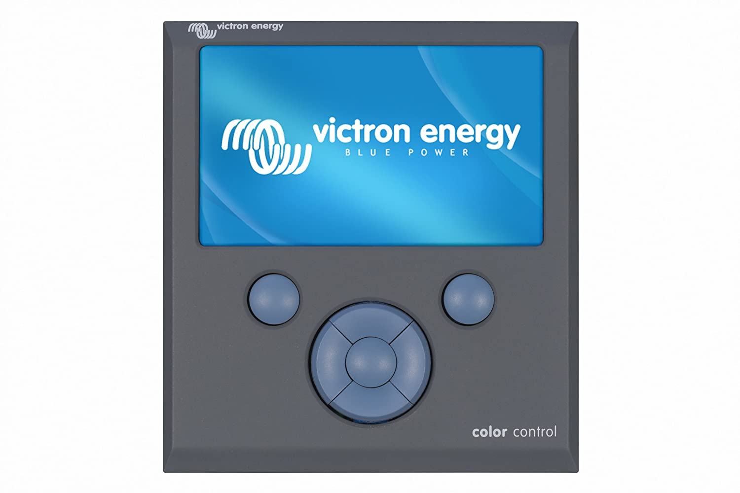 Color Control GX – Victron Energy The hub of our bus' electrical system – connects to the inverter and logs all our data to the internet, so we can review it remotely too. (Victron sent us this for beta testing and feedback.)