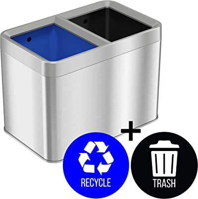 Open-Top-Trash-Cans
