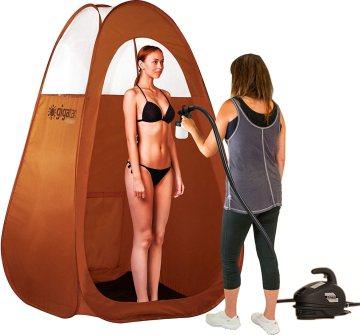 spray tan booth reviews - Gigatent Spray Tan