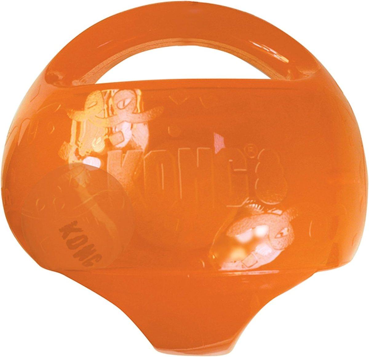 KONG - Jumbler™ Ball - Juguete con pelota de tenis - Raza mediana/grande (varios colores)