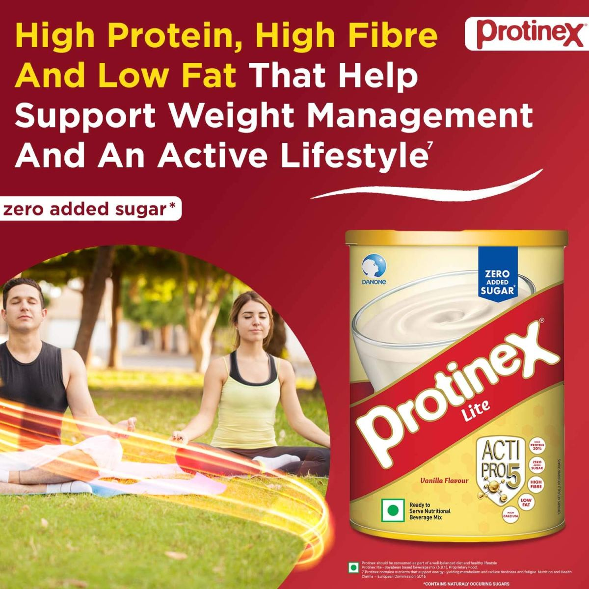 Protinex Lite Vanilla INGREDIENTS