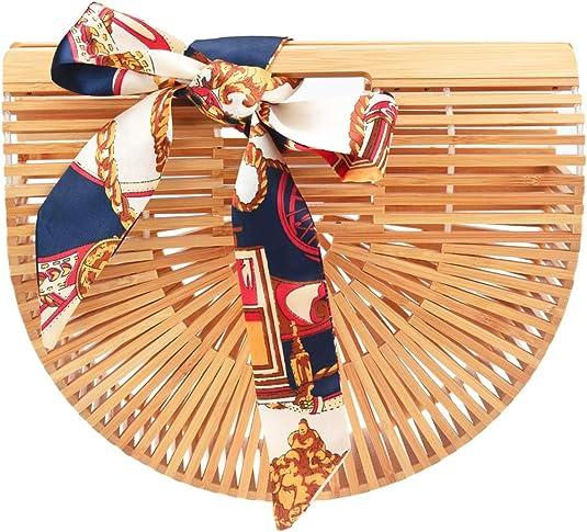 cute straw handbag from amazon