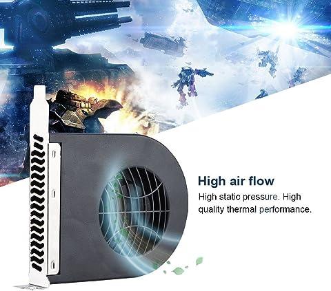 Sanpyl ミニシステムPCIスロット送風機 CPUケースDC冷却ファン 冷却ファンPCI コンピュータ用 6vhgta1d53