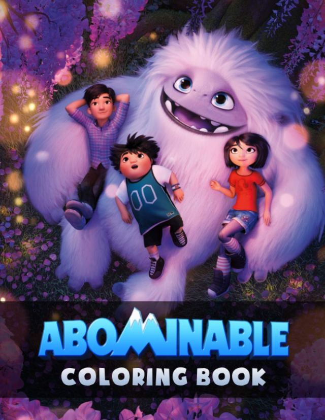 Abominable Coloring Book: Amazing Coloring Book For Kids with Fun