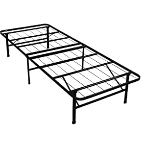 Best Price Mattress New Innovated Box Spring Platform Metal Bed Frame / Foundation, Twin