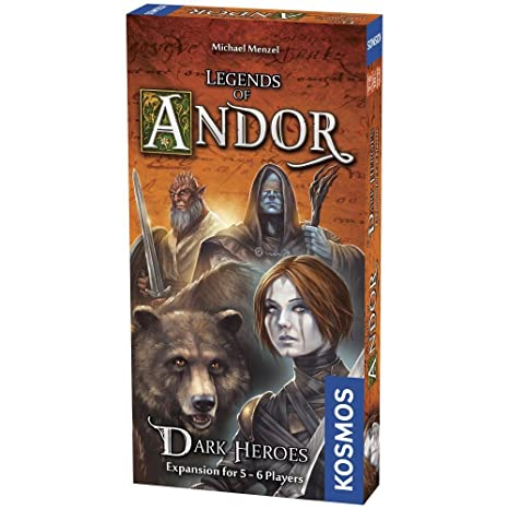 Image result for andor dark heroes board game
