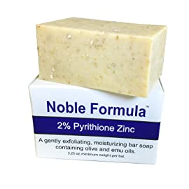 Noble Formula 2% Pyrithione Zinc (ZnP) Original Emu Bar Soap