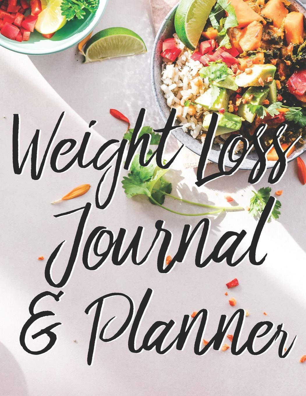 Weight Loss Journal & Planner: 12 Month Food & Exercise Journal To Plan Your Food & Control Your Weight (Food Journals To Write In) 1