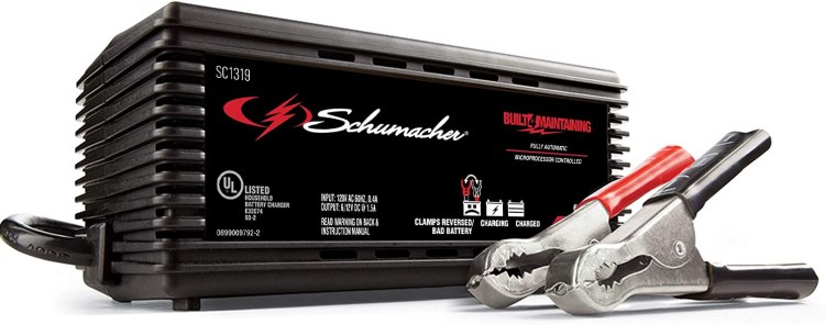 Schumacher SC1319 1.5A 6/12V Fully Automatic Battery Maintainer