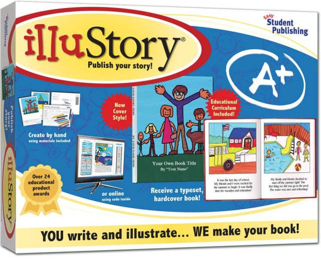 IlluStory Write and Illustrate Your Own Book Kit: Creations by You