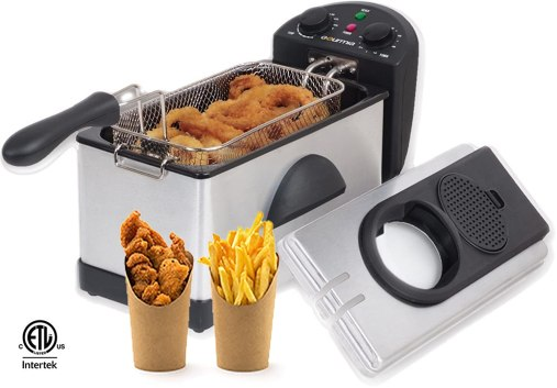 Gourmia GDF300 Electric Restaurant Deep Fryer