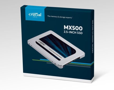Crucial SSD MX500 パッケージ