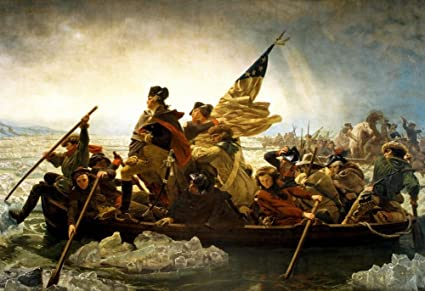 Image result for washington crossing the delaware