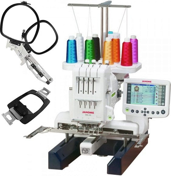 Janome MB-4s Four-Needle Embroidery