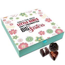 Chocholik Rakhi Gift Box – Special Gift for Best Little Sister Chocolate Box for Sister – 9pc