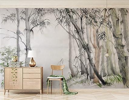 Carta Da Parati Adesiva Muro 3d Elegante Cinese Nordico Ikea