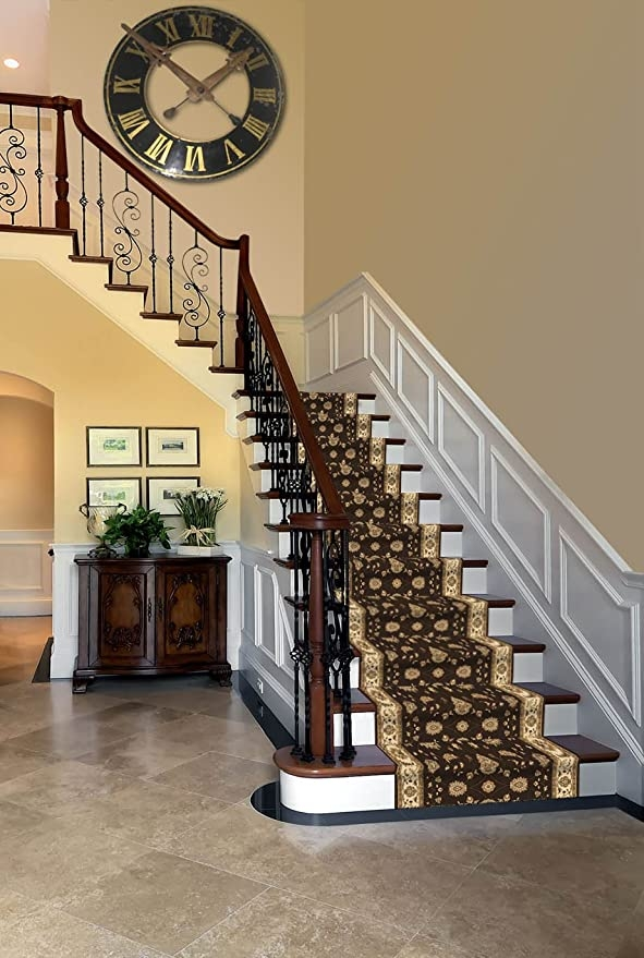 Amazon Com Custom Cut To Size Elegant Triumph Stair Hallway | Stair And Hallway Runners | Landing | Stair Treads | Wool | Non Slip | Images Tagged