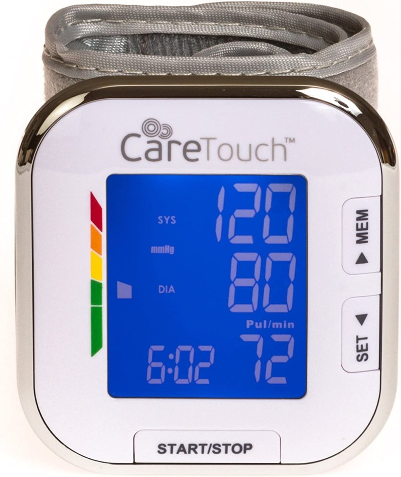 Care Touch Fully Automatic Blood Pressure Monitor