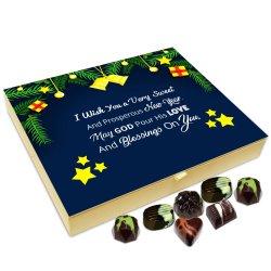 Chocholik New Year Chocolate Box – I Wish You A Very Sweet and Prosperous New Year Chocolate Box – 20pc