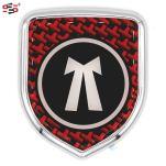 S2S 3D Chrome Sticker Emblem Badge Logo For Cars & Bikes (Advocate)