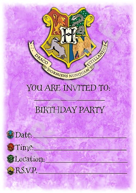 Harry Potter Stemma Hogwarts Viola Festa Di Compleanno