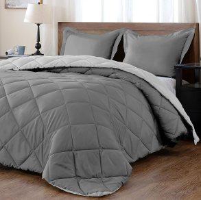 Downluxe Lightweight Solid Comforter Set