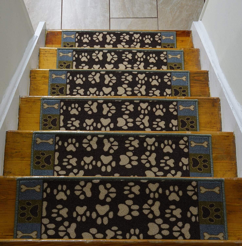 Stair Treads Skid Slip Resistant Backing Indoor Carpet Stair   Indoor Carpet Stair Treads   Oak Valley   Rug Indoor   Indoor Outdoor   Mat   Stair Runner