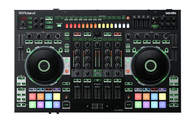 Roland Four-channel, Two-Deck Serato DJ ControllerBlack Friday Deals 2019
