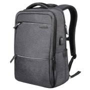 Inateck Gray Backpack With Hidden Compartment