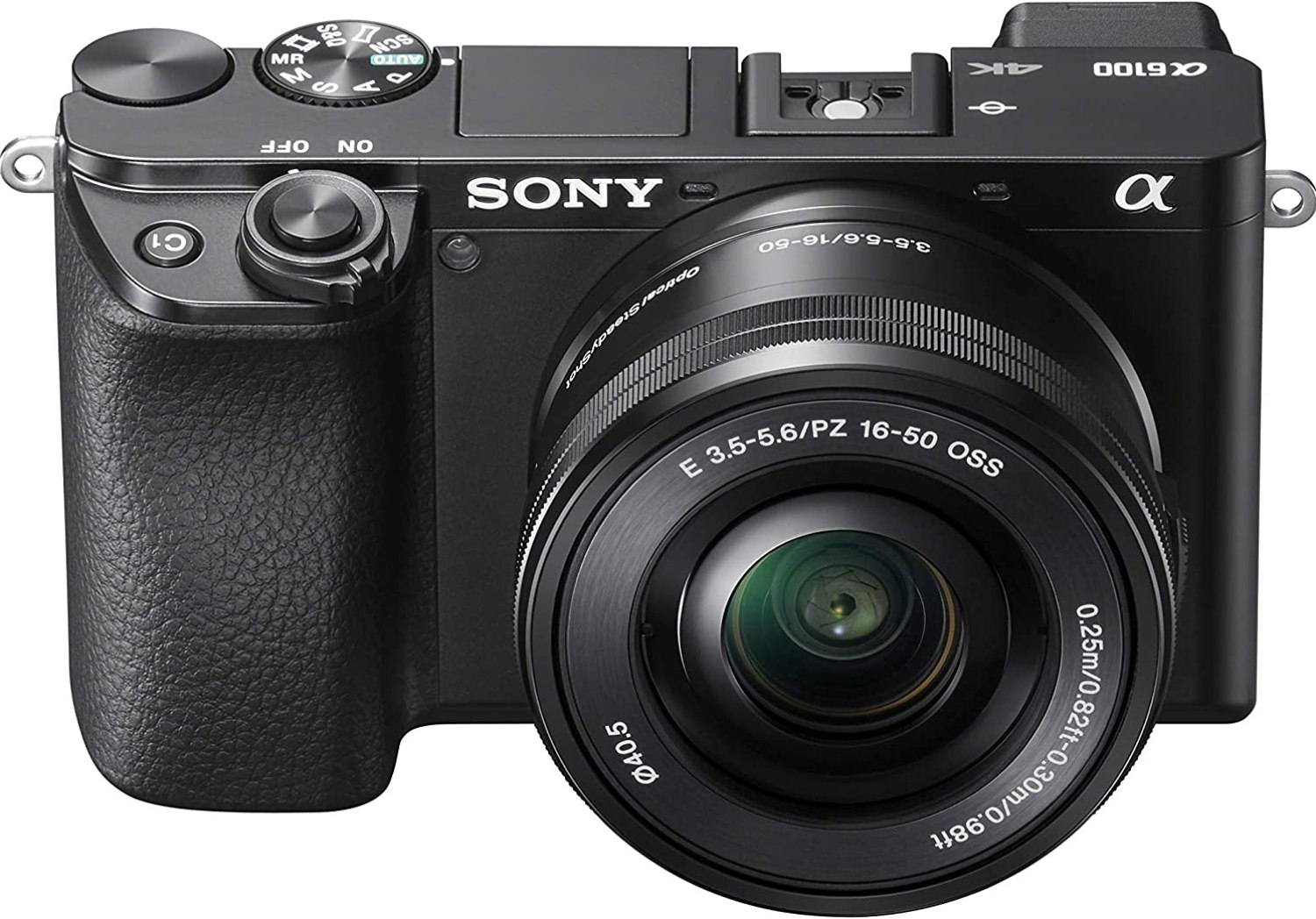 best camera for hiking - Sony Alpha A6100 Mirrorless Camera