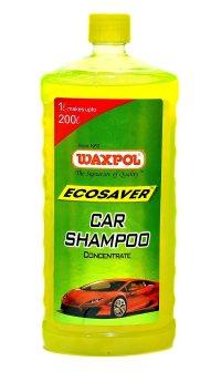 Waxpol Ecosaver Car Shampoo Concentrate - 1 LTR