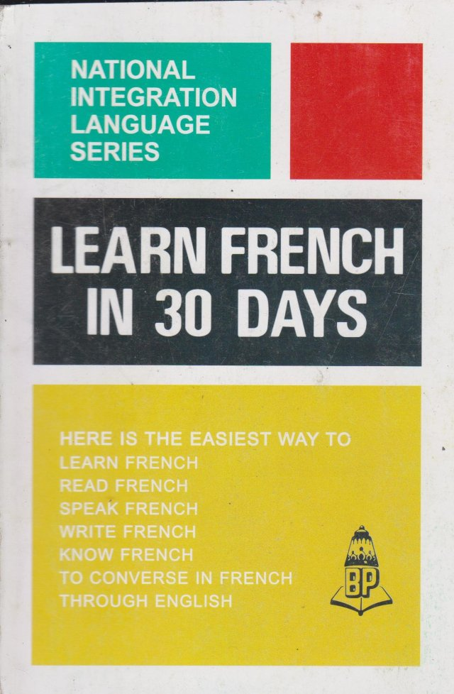 Buy Learn French Through English Book Online at Low Prices in