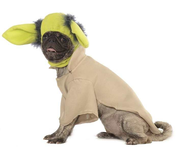 Yoda Costume for Pugs