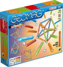 Geomag- Confetti Construcciones magnéticas y Juegos educativos