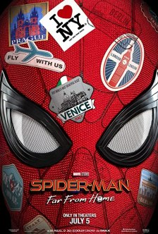 Image result for spider-man far from home movie poster