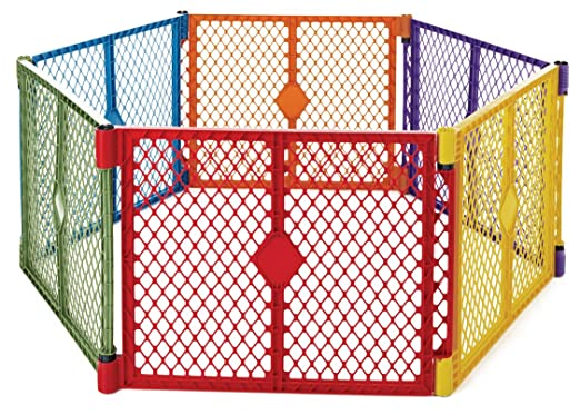 North States Superyard Colorplay Baby Play Yard, Play Yards