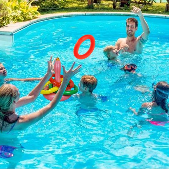 Ring Toss Inflatable Pool Game