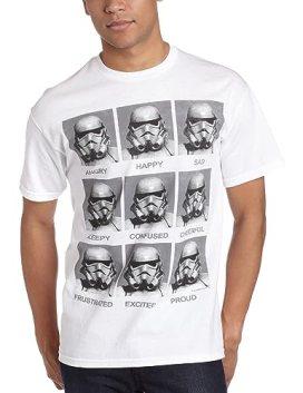 Mad Engine Men's Today I Am T-Shirt, White, Medium