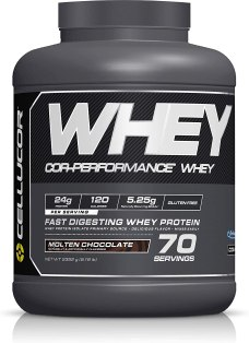 Cellucor Whey Protein Isolate & Concentrate Blend Powder.