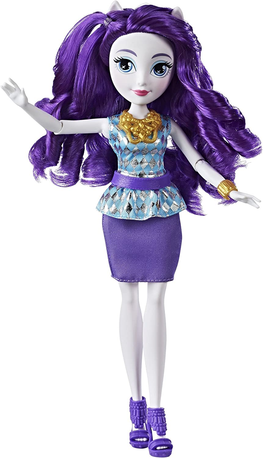 My Little Pony Equestria Girls Rarity Classic Style Doll Playsets Amazon Canada