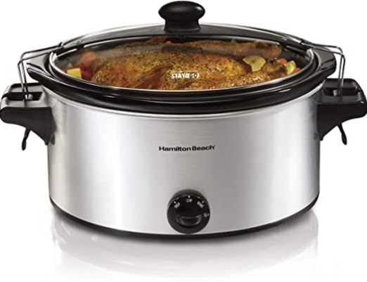 Stay Or Go Portable 6 Quart Slow Cooker