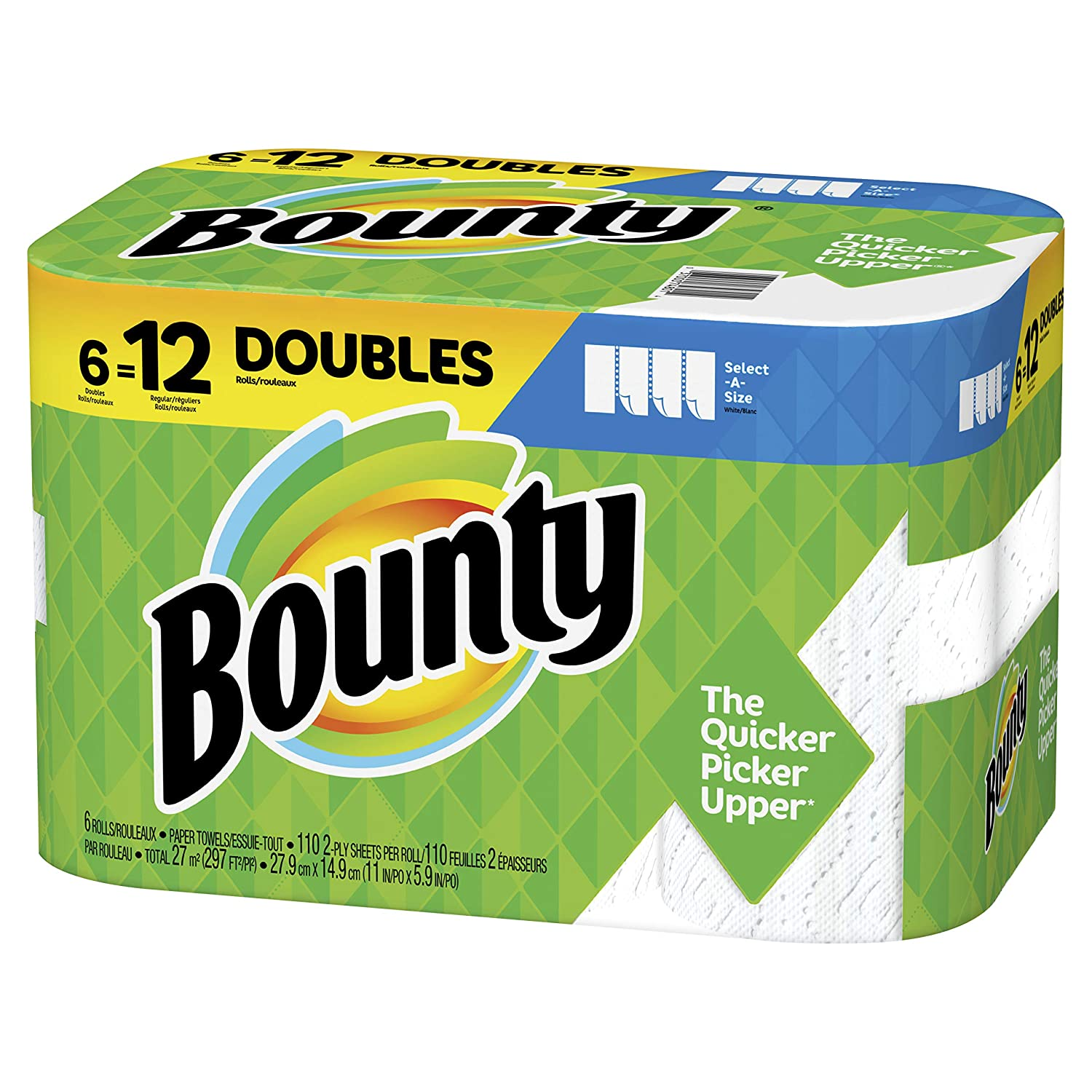 Bounty Select-A-Size eco friendly paper towels