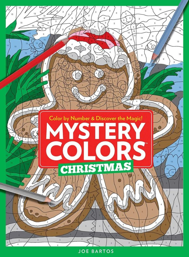 Mystery Colors: Christmas: Color By Number & Discover the Magic