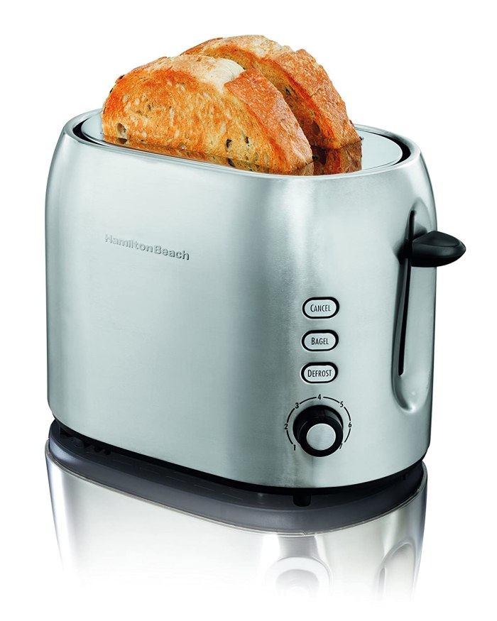 Hamilton Beach 2 Slice Metal Toaster A great little 2-slice toaster – ideal size for smaller kitchens.