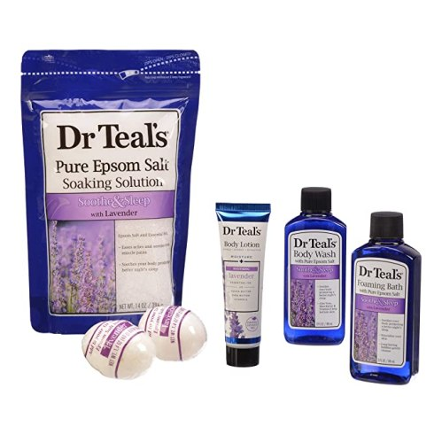 Dr. Teals Soothe and Sleep with Lavender, pamper yourself